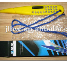 8 Digital Portable Ruler Calculator With Ball Pen