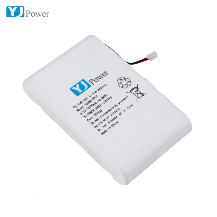 Long standby 13200mAh 18650 6P Li -ion Battery for gps tracker