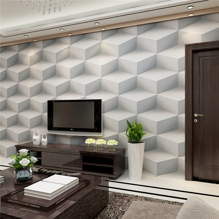 Cheap price vinyl washable 3d wallpaper decor for home