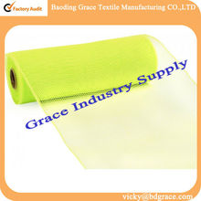 "10"" Poly Deco Mesh: Apple green"