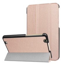 Japan version Folding Leather Cover For LG G PAD3 III 8.0 Case