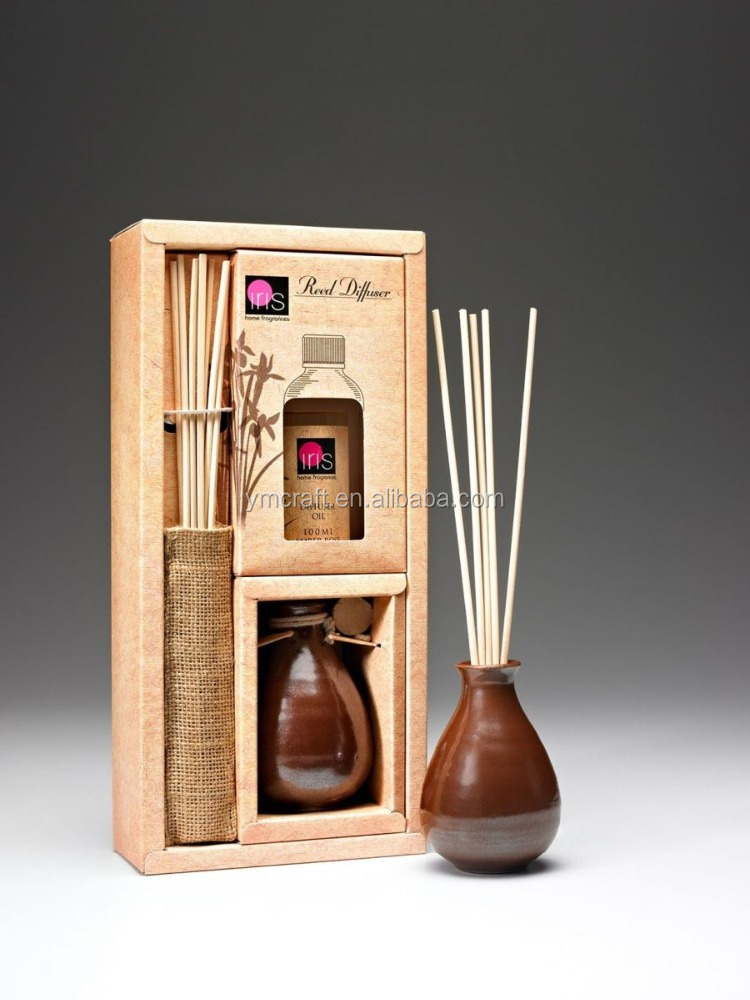 2016 home fragrance reed diffuser latest gift set