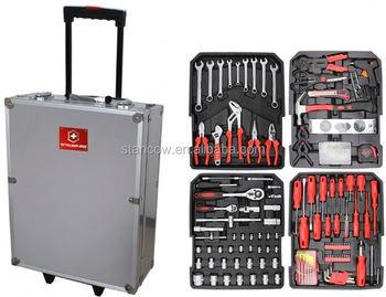 professional 186 trolley tools box tools set top box case buy set top box case wiha bike. Black Bedroom Furniture Sets. Home Design Ideas