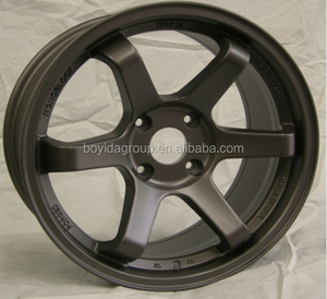 2014 Hot selling alloy wheels rims with high quality TE37