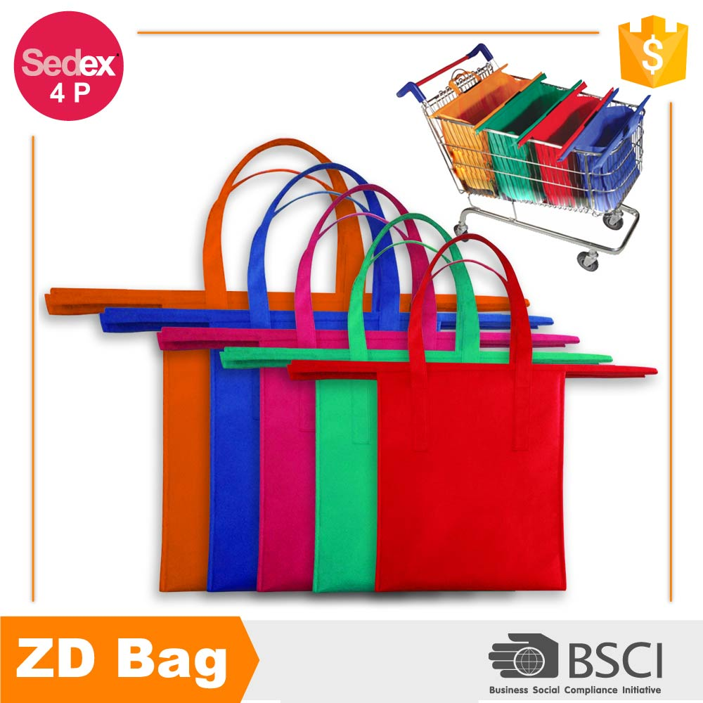 high quality foldable market shopping bag grocery tote bag for supermarket use
