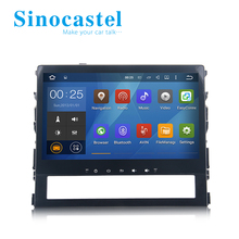 Touch Screen Android 5.1.1 OS Car DVD Player for Land Cruiser 2016 With Canbus AUX IN + 1080P Full HD Video Play