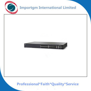 100% original new small business SG 300-28P 28-port Gigabit PoE Managed Switch