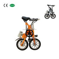 New model 4 inch adults mini foldable electric bicycle made in china