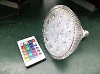 15W remote control E26 E27 RGB PAR38 LED Lamps