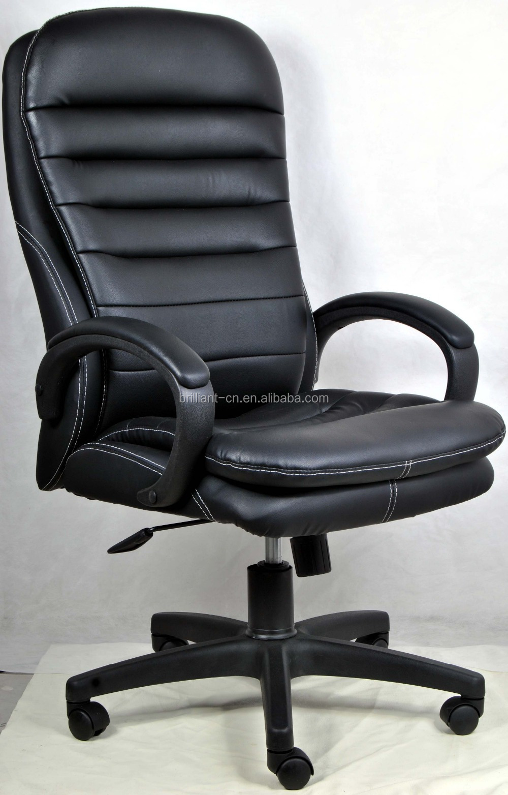high back pu office chair for heavy people view high back