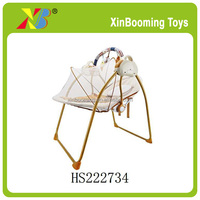 Baby electric rocking chair infant automatic swing chair with mosquito net