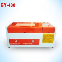 Hot sale cost performance for handcraft DIY GY430 4030 40W CO2 laser engraving machine for glass price