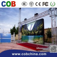 Outdoor Aluminium Die casting cabinet P8 led Rental display