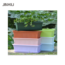 plastic flowerpot large outdoor rectangular planters