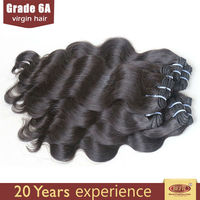 Top quality unprocessed smoothest 100% brazilian hair clip-on hair extension