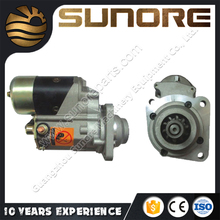 Guangzhou supply Mitsubishi excavator parts 6D102 starter/starting motor 600-813-4110 with 24V 10T 4.5KW