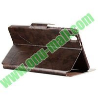 Crazy Horse Texture Leather Case for Samsung Galaxy Tab pro 8.4 with Stand