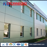 Crownbond ACP Aluminum Composite exterior insulated panel,building decoration exterior wall panel