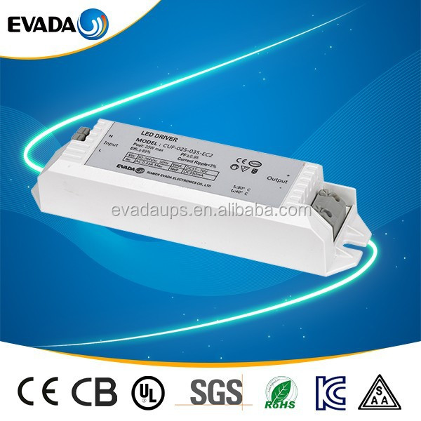 CE approval high power 42w 56VDC led strip driver