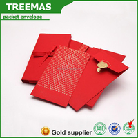 Discount red packet/ red packet printing/ wholesale envelope for wedding invitation money card