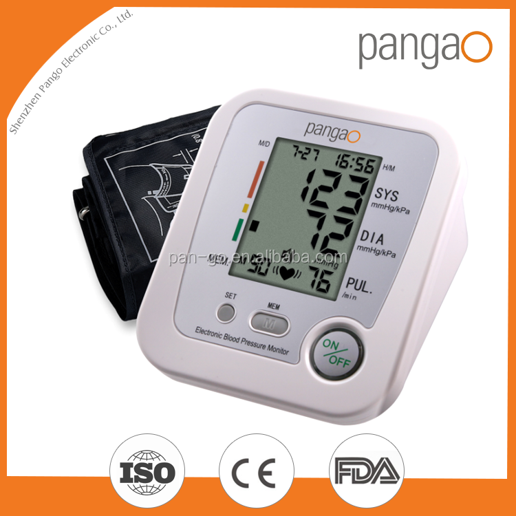 Portable fuzzy logic upper arm blood pressure monitor new inventions in china