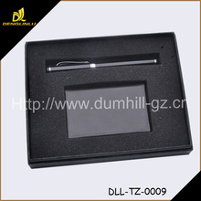 Fashionable Leather Gift set for card holder pen