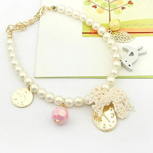 candygirl brand jewelry accessories seed bead Bow manufactory price bow alloy bracelet