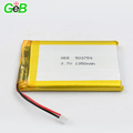 Lipo Lithium ion Polymer Battery 503759 3.7V 1350mAh for Mobile Phone