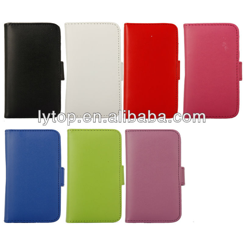 for iphone 4 case with credit cards slots holder, for iphone 4 leather flip pu case cover, for iphone 4 wallet case