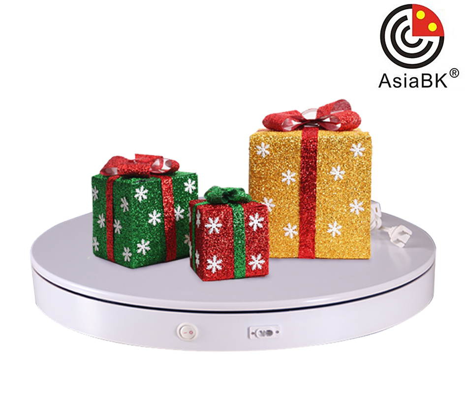 decorative christmas stand turntable platform for marry christmas