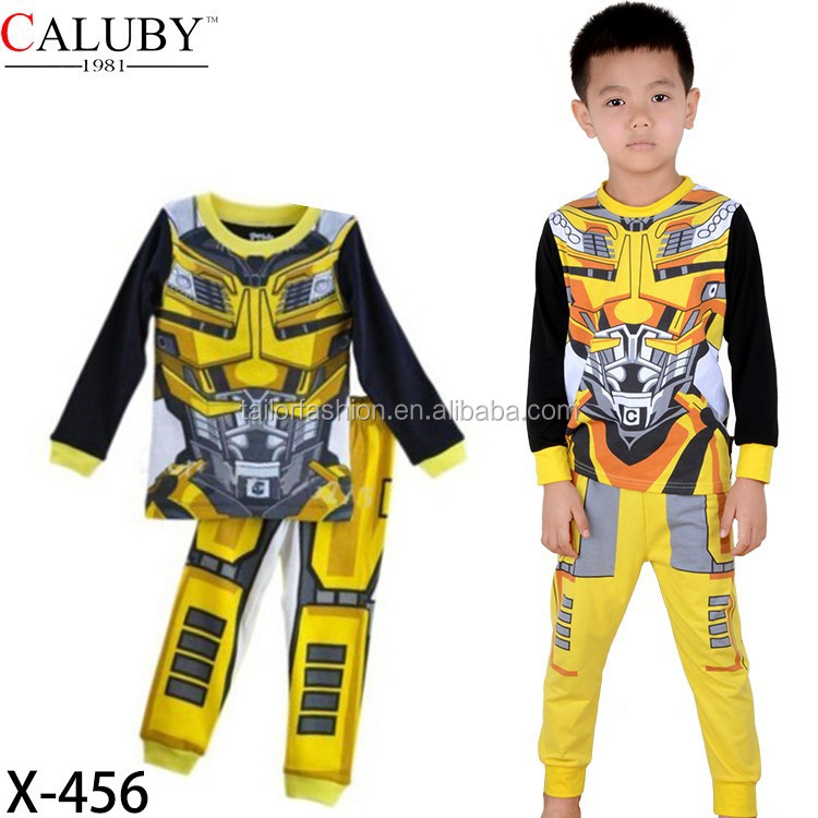 transformers bumblebee costume cosplay pajamas transformers