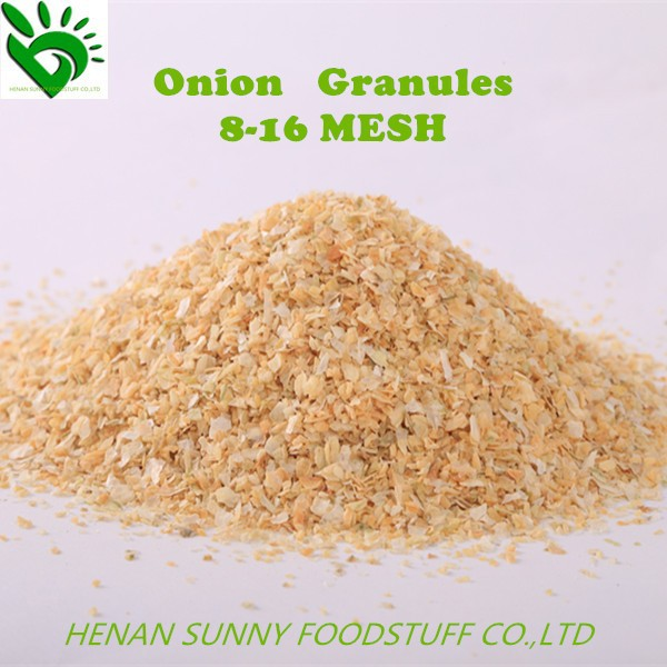 Dried Vegetables for Onion Granules