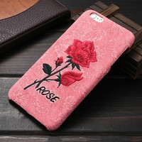Rose PP Cell phone case For iphone 6 plus , 2016 Hot for iphone 6S plus case