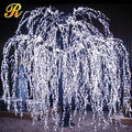 Unique wedding souvenirs white artificial weeping willow tree