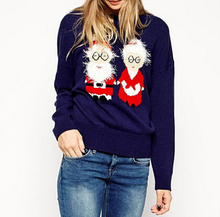 DY2949W D.Y fashion ladies chrismas sweater ugly sweater