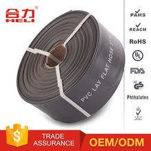 Fire Hose Price high quality pu/pvc agricultural irrigation canvas fire hose