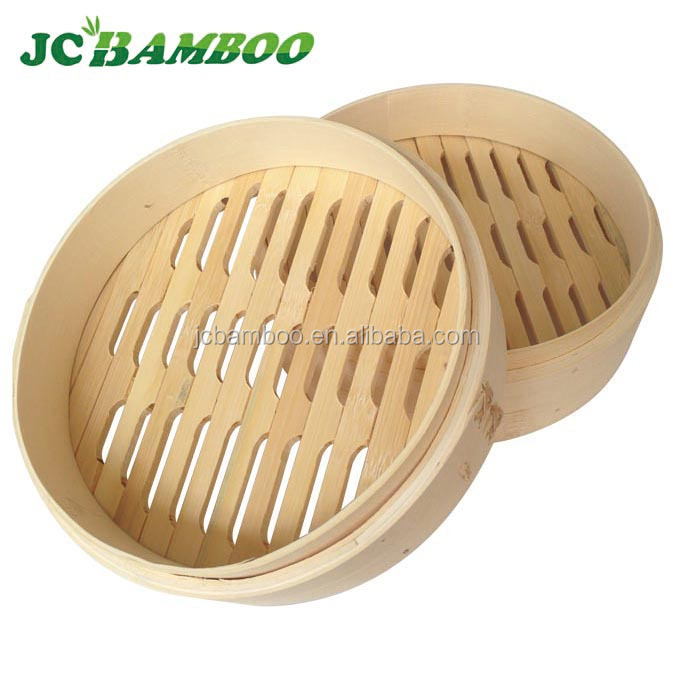 Bamboo gas food steamer
