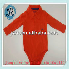 OEM china factory baby clothing /polo Pique spandex 210 GRS baby creeper