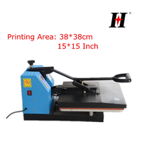 2016 HOT sell heat transfer press machine 38*38cm good quality good price best selling model