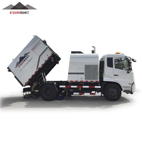 CLYQ-12000 quality street sweeper and cleaning truck vehicle