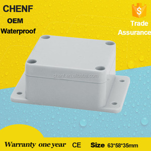 Chenf Cf-20 Small Junction Box 63*58*35Mm Abs Material Ip66 Waterproof Outlet Box