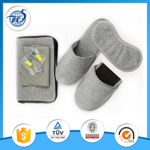 Promotion 4piece in 1 jersery airline sleeping travel kit