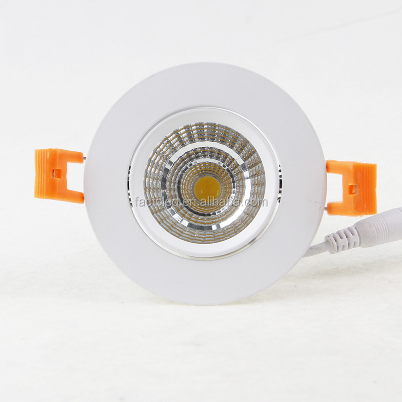 Factory 5w led cob downlight spotlight with CE TUV Rohs from zhongshan