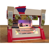 Shopping mall commercial fast food kiosk for sale design