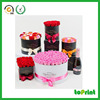 High quality new design flower packaging gift hat box beautiful round flower box