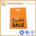 china manufacturer High Quality LDPE Die Cut Plastic Shopping Bags With Logo