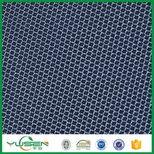100 polyester 3d spacer mesh fabric 2 mm thick for car seat , mattresses,sofa
