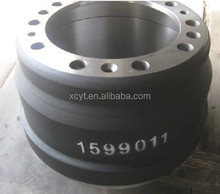 Casting iron HT 250 national standard best performance brake drums used for heavy trucks