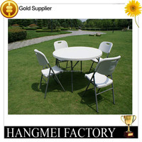 Plastic Folding Used Outdoor Table And Chair HM-PT10