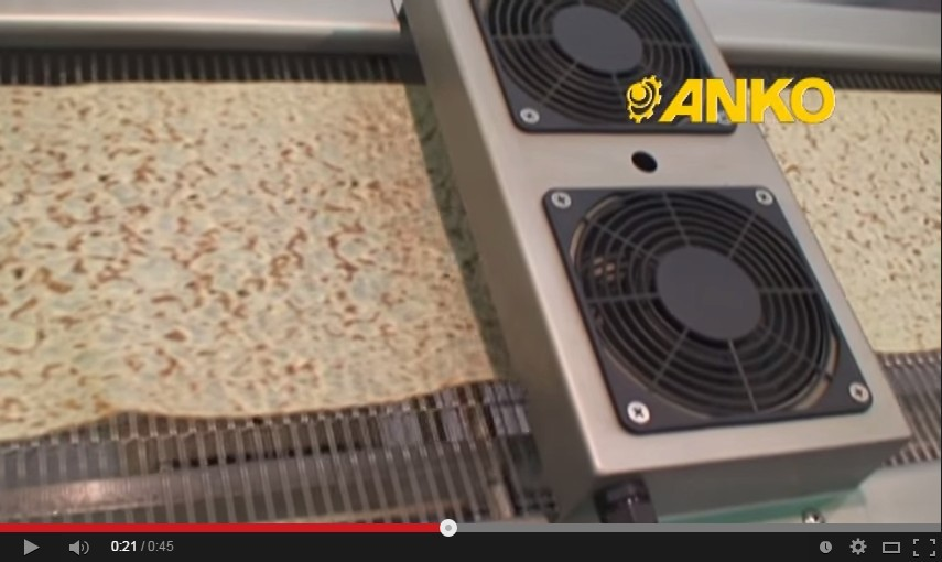 Anko Big Scale Making Filling Electric Automatic Crepe Maker